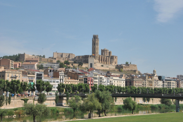 Lleida y la Seu Vella