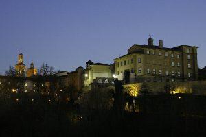 Atardecer en Pamplona