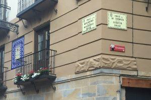 Pamplona, calle Estafeta