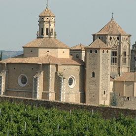 Visite guidée au monastère de Poblet.