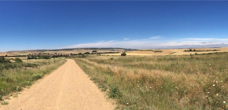 Inicio del camino de Santiago