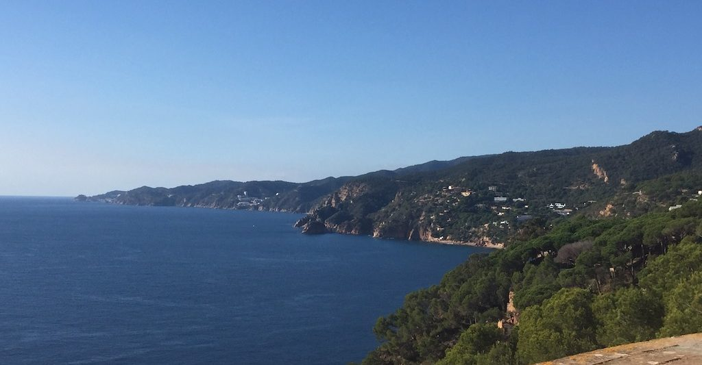 Costa Brava panoramic view