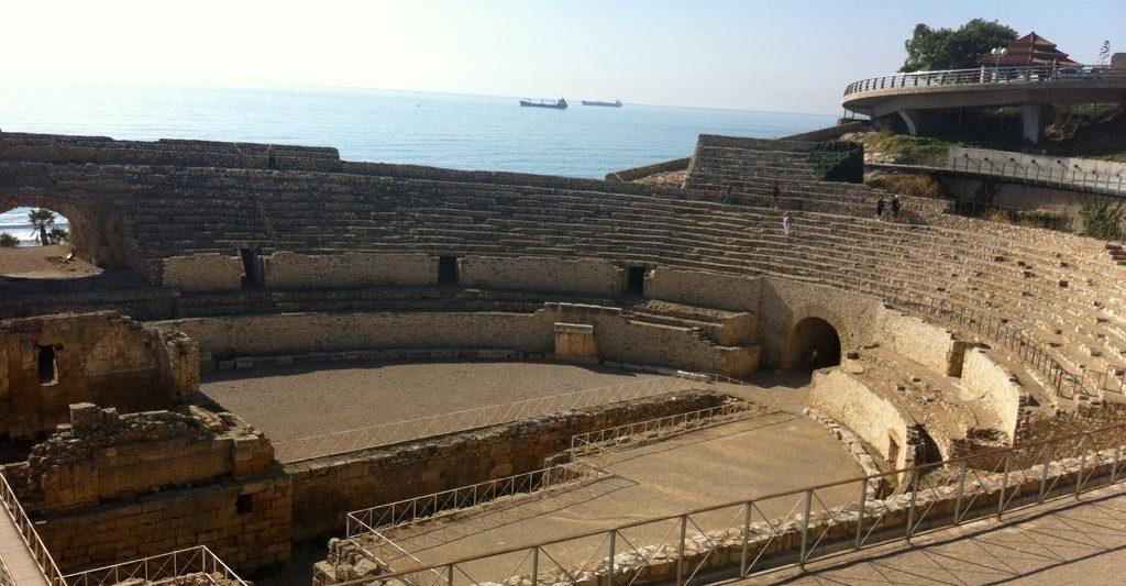 Arena del Amfiteatro de Tarragona