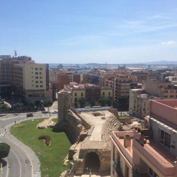 Vista de Tarragona y el puerto