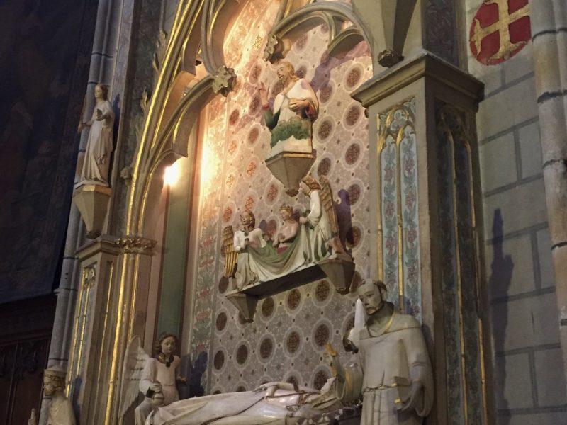 La tumba de Elisenda de Montcada en el monasterio de Pedralbes