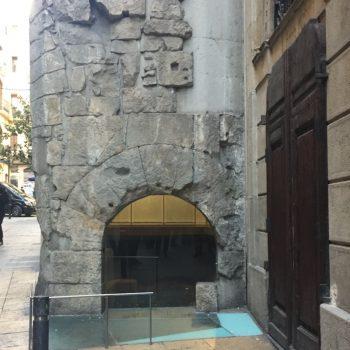 Portal de mar de Barcino