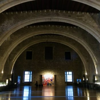 The Tinell Hall was the throne room of the kings of the Crown of Aragon