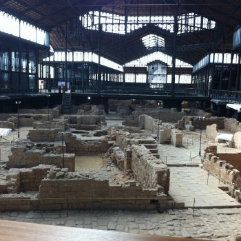 El Born centro cultural acoge un importante yacimiento arqueologico