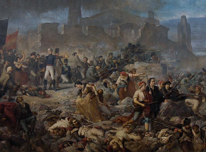 El gran dia de Girona, de Martí Alsina show marks of Napoleon in Barcelona and Catalonia