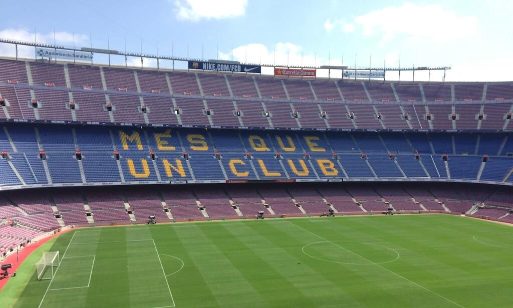 Visite guidée Stade Camp Nou FCBarcelone
