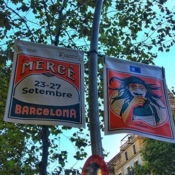La fete de la Merce, la grande fete de Barcelone