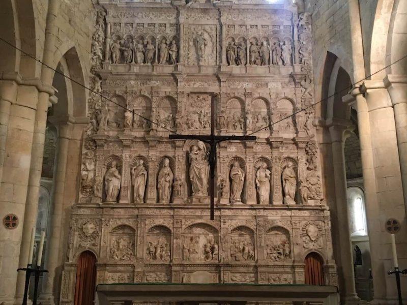 Visita guiada Monestir de Poblet i retaule major alabastre de Sarral