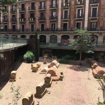Visita guiada necropolis de Barcino, la Barcelona romana