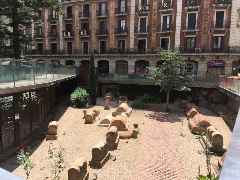 Nécropole romaine de Barcelone, la ville