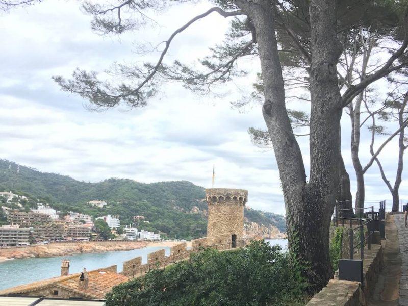 Visita guiada a la Vila Vella de Tossa de Mar en la Costa Brava