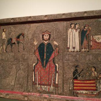Parement d'autel de Saint Martin, au MNAC de Barcelone