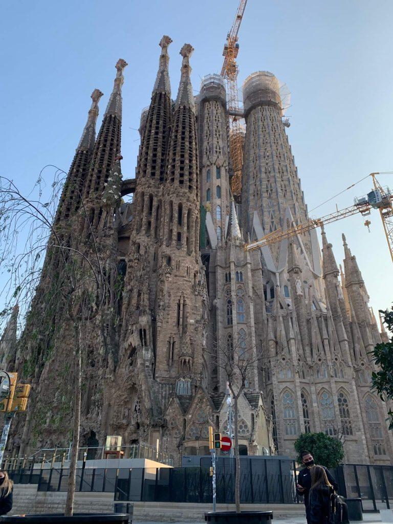 ·サグラダ·ファミリア贖罪聖堂(Temple Expiatori de la Sagrada Família)